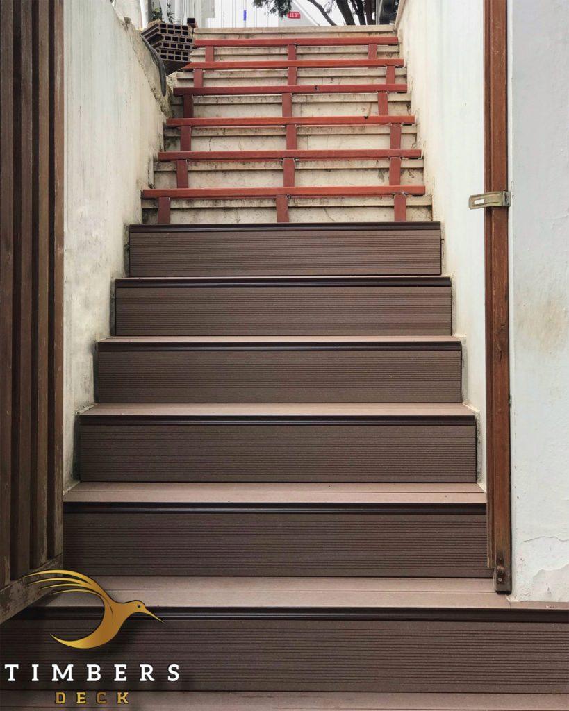 Kompozit Deck Merdiven Kaplama